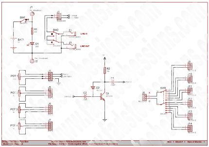 bazz fuzz basic schematic